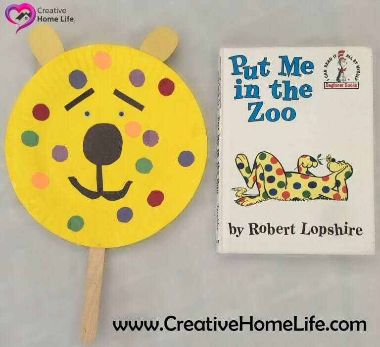 - Put me in the Zoo Inspired Puppet Craft - ​