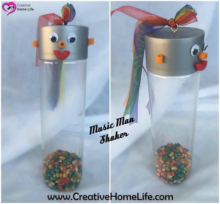 Colorful Music Man Shaker Instrument
