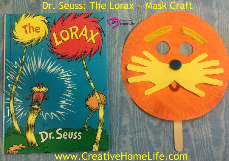 The Lorax Mask Craft