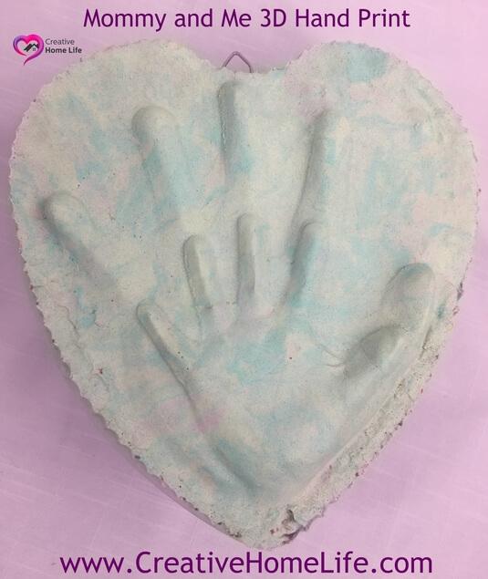 Mommy & Me 3D Handprint