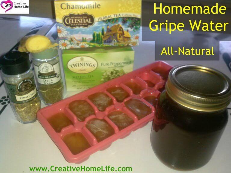Homemade Gripe water